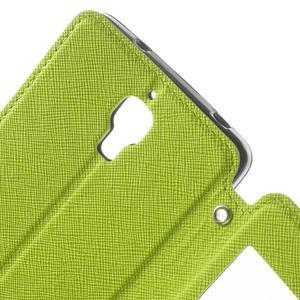 Root puzdro s okýnkem pre Xiaomi Mi4 - zelené - 7