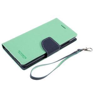 Mr. Fancy peňaženkové puzdro na Xiaomi Mi4 - azurové - 7