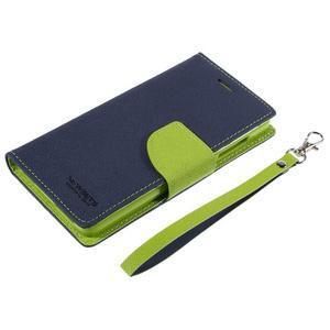 Mr. Fancy peňaženkové puzdro na Xiaomi Mi4 - tmavo modré - 7