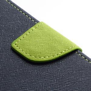 Mr. Goos peňaženkové puzdro na Sony Xperia Z - tmavo modré - 7