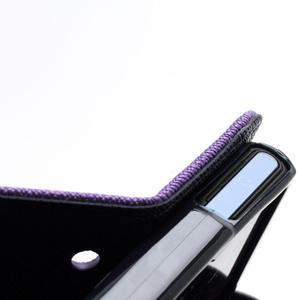 Mr. Goos peňaženkové puzdro pre Sony Xperia Z - fialové - 7