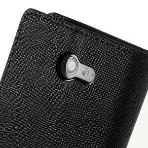 Mr. Goos peňaženkové puzdro na Sony Xperia M2 - čierné - 7