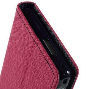 Mr. Goos peňaženkové puzdro na Sony Xperia M2 - rose - 7