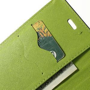 Mr. Goos peňaženkové puzdro pre Sony Xperia M2 - tmavo modré - 7