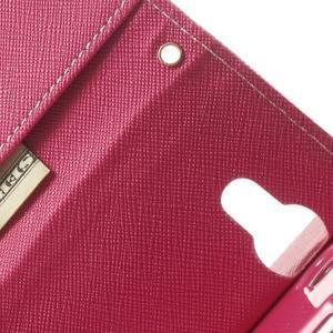 Mr. Goos peňaženkové puzdro na Sony Xperia M2 - růžové - 7