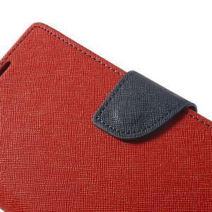 Fancy Peňaženkové puzdro pre Sony Xperia Z2 - červené - 7