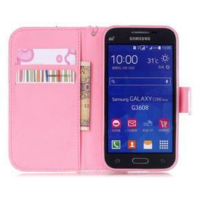 Pictu puzdro pre mobil Samsung Galaxy Core Prime - pery - 7