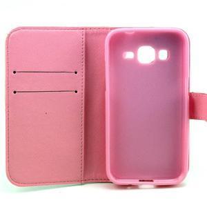 Puzdro na mobil Samsung Galaxy Core Prime - sovičky - 7