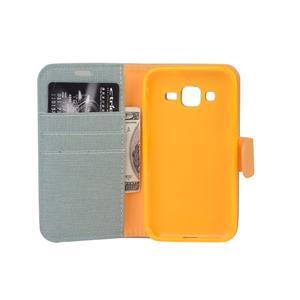 Covers puzdro pre mobil Samsung Galaxy Core Prime - svetlomodré - 7