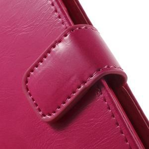 Moonleather PU kožené pouzdro na Samsung Galaxy Core Prime - rose - 7