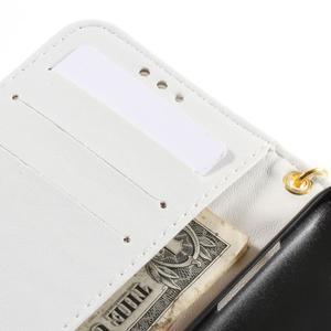 Croco peněženkové pouzdro na Samsung Galaxy Core Prime - bílé - 7