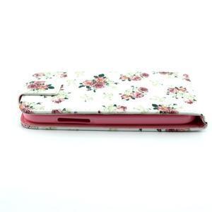 Flipové puzdro pre mobil Samsung Galaxy Core Prime - kvety - 7