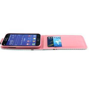Flipové puzdro pre mobil Samsung Galaxy Core Prime - neprestávaj  snívať - 7