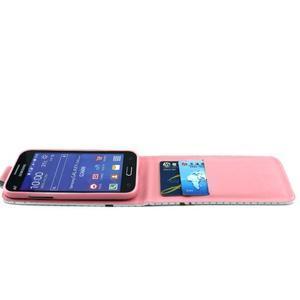 Flipové puzdro pre mobil Samsung Galaxy Core Prime - sova - 7