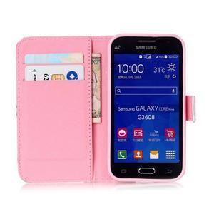 Knížkové pouzdro na Samsung Galaxy Core Prime - pláž - 7