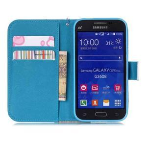 Pictu puzdro pre mobil Samsung Galaxy Core Prime - malované kvety - 7