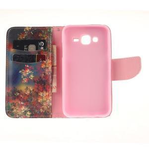 Standy peňaženkové puzdro pre Samsung Galaxy J5 - jesenné zátiší - 7