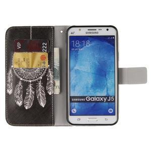 Standy peňaženkové puzdro pre Samsung Galaxy J5 - lapač snov - 7