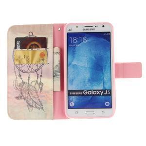 Standy peňaženkové puzdro pre Samsung Galaxy J5 - dream - 7