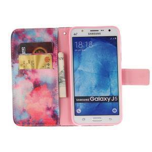 Standy peňaženkové puzdro pre Samsung Galaxy J5 - malba - 7