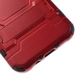 Odolný kryt 2v1 se stojánkem na Samsung Galaxy J5 - červený - 7