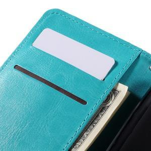 Peňaženkové puzdro pre mobil Samsung Galaxy J5 - modré - 7