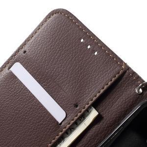 Leaf peňaženkové puzdro pre Samsung Galaxy J5 - červené - 7