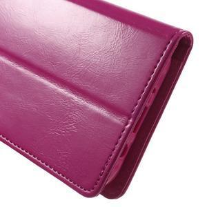 Mercury PU kožené puzdro pre mobil Samsung Galaxy J5 - rose - 7