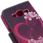 Dairy peňaženkové puzdro pre Samsung Galaxy J5 - srdca - 7/7