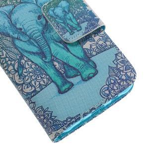 Dairy peněženkové pouzdro na Samsung Galaxy J5 - modrý slon - 7