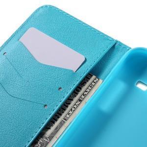 Dairy peněženkové pouzdro na Samsung Galaxy J5 - vodní květ - 7