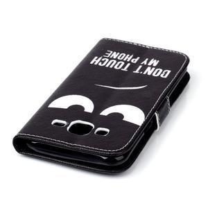 Pictu peňaženkové puzdro pre Samsung Galaxy J5 - nesiahat - 7