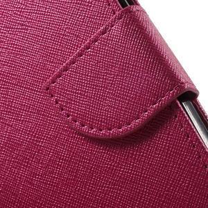 Crossy koženkové pouzdro na Samsung Galaxy J5 - rose - 7