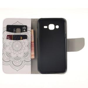 Standy peněženkové pouzdro na Samsung Galaxy J5 - mandala - 7