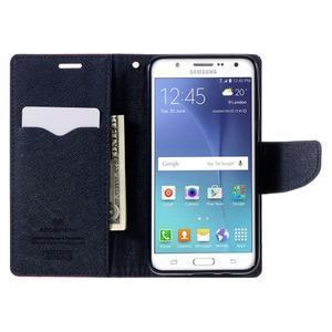 Diary PU kožené puzdro pre mobil Samsung Galaxy J5 (2016) - rose - 7