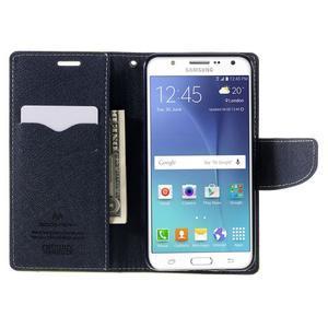 Diary PU kožené puzdro pre mobil Samsung Galaxy J5 (2016) - zelené - 7