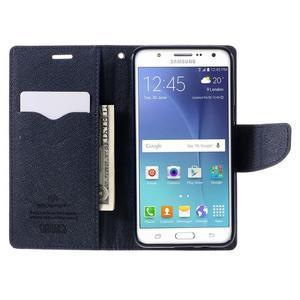 Diary PU kožené pouzdro na mobil Samsung Galaxy J5 (2016) - fialové - 7