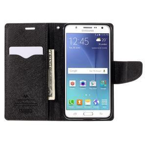 Diary PU kožené puzdro pre mobil Samsung Galaxy J5 (2016) - hnedé - 7