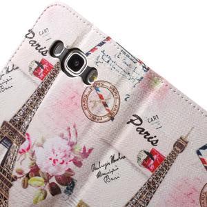 Nice peňaženkové puzdro pro Samsung Galaxy J5 (2016) - Eiffelova veža - 7