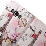 Nice peňaženkové puzdro pro Samsung Galaxy J5 (2016) - Eiffelova veža - 7/7