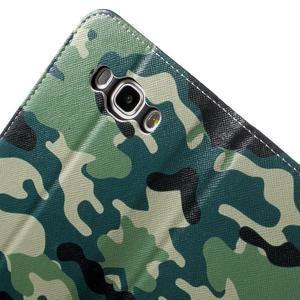 Nice peňaženkové puzdro pro Samsung Galaxy J5 (2016) - kamufláž - 7