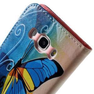 Nice peněženkové pouzdro pro Samsung Galaxy J5 (2016) - motýl - 7