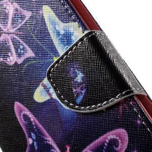 Nice peňaženkové puzdro pro Samsung Galaxy J5 (2016) - čarovné motýle - 7