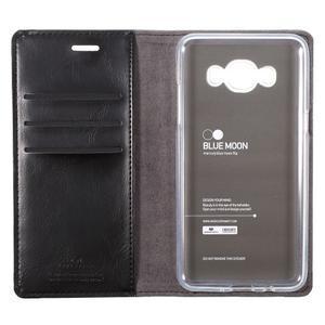 Moons PU kožené pouzdro na Samsung Galaxy J5 (2016) - černé - 7