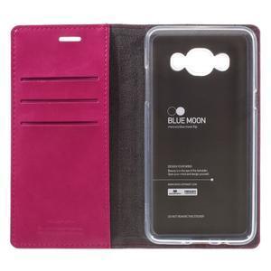 Moons PU kožené puzdro pre Samsung Galaxy J5 (2016) - rose - 7