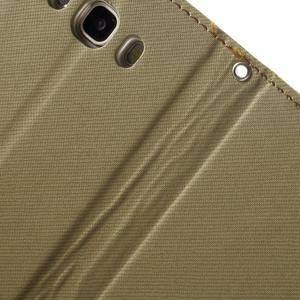 Gentle PU kožené peněženkové pouzdro na Samsung Galaxy J5 (2016) - khaki - 7