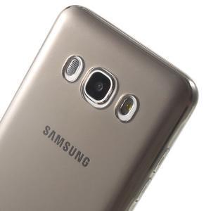 Ultratenký slim gélový obal pre Samsung Galaxy J5 (2016) - šedý - 7