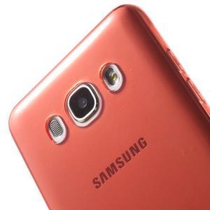 Ultratenký slim gelový obal na Samsung Galaxy J5 (2016) - červený - 7