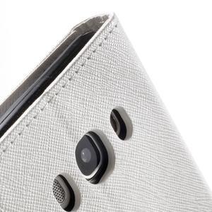 Routy PU kožené pouzdro na Samsung Galaxy J5 (2016) - bílé - 7