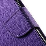 Routy PU kožené pouzdro na Samsung Galaxy J5 (2016) - fialové - 7/7